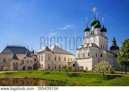 Rostov Kremlin, The Church Of St. John The Evangelist And The Red Chamber. Rostov Veliky, Yaroslavl