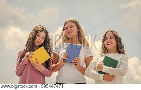 Smart Friends. School Friendship. Foreign Languages. Study Together. Clever Kids. Study Group Help S
