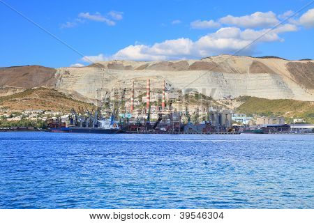 Port And Cement Plant