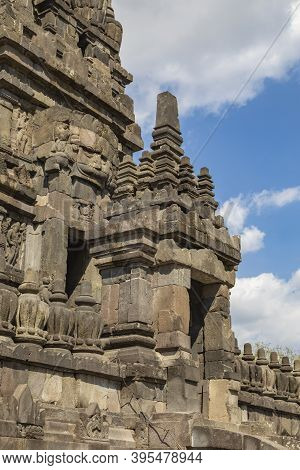 Entrance Portico To One Of The Shrines Of The Prambanan Ancient Hindu Temple Complex, Rara Jonggrang