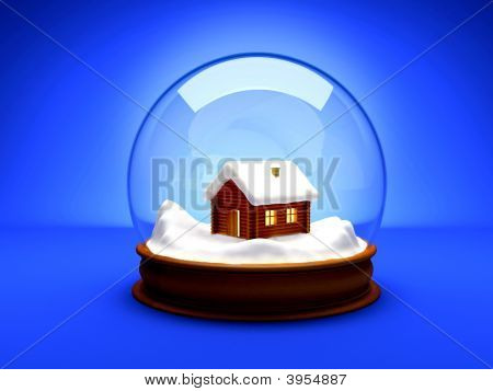 Christmas Glass Bubble Ball