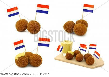 A real traditional Dutch snack called