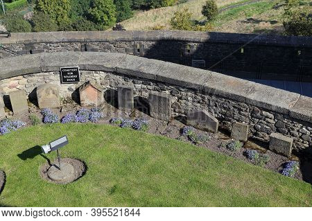 Edinburgh, Great Britain - September 10, 2014: This Is The Cemetery For A Dogs Of Soldiers, Which Is