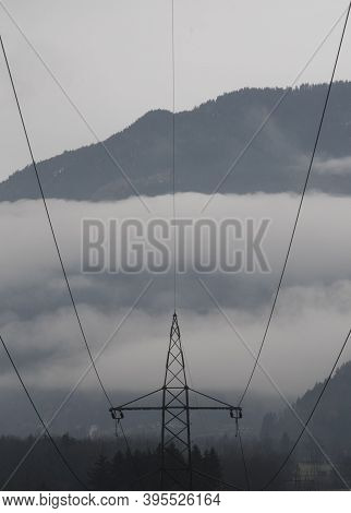 Energy Supply With A 380 Kv Power Line In Winter