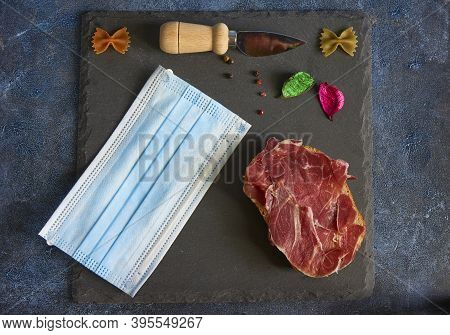 Ham And Mask