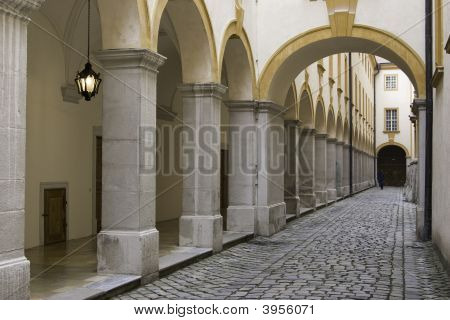 Passage With Arch