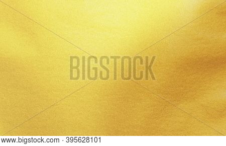 Gold Foil Paper Texture Background, Shiny Luxury Foil Horizontal With Unique Design Of Paper, Soft N