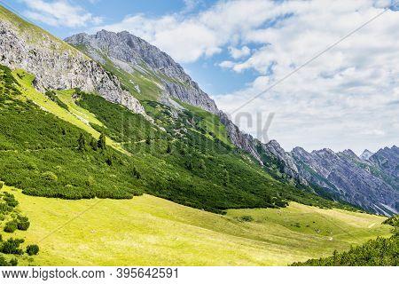 Hahntenjoch Near Imst In Tirol, Austria, Europe.