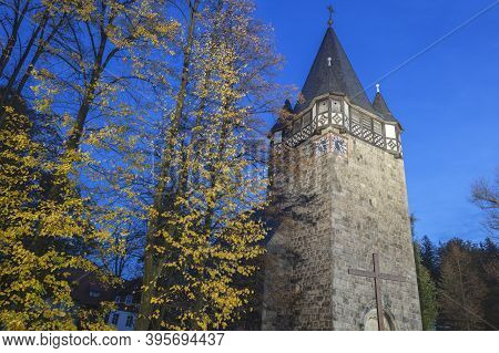 Church In Karpacz. Karpacz, Lower Silesia, Poland.