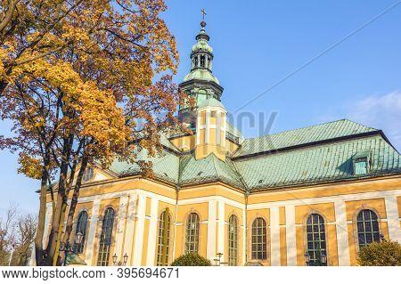 St Cross Sanctuary In Jelenia Gora. Jelenia Gora, Lower Silesia, Poland.