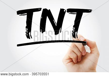 Tnt - Today Not Tomorrow Acronym, Business Concept Background