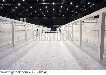 Katowice, Poland - November 12, 2020: Temporary Field Hospital For Coronavirus Disease (covid-19) Ep