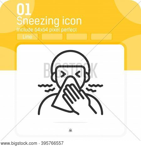 Personal Hygiene Icon With Outline Style Isolated On White Background. Vector Illustration Personal