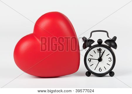 Heart And Clock
