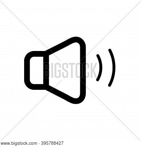 Sound Icon Isolated On White Background From Miscellaneous Collection. Trendy And Modern Sound Symbo