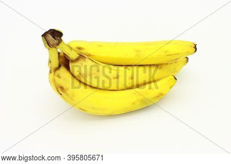 Banana Picture, Yellow Bananas, Banana On White Background.