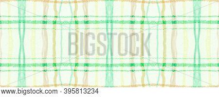 Yellow Plaid Pattern. Seamless Tartan Fabric. Buffalo Kilt. Hipster British Repeat. Fall Plaid Patte