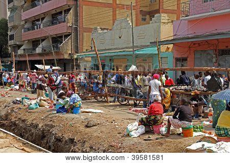 Street Vendors In Africa