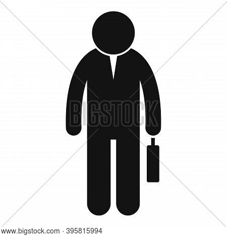 Career Headhunter Icon. Simple Illustration Of Career Headhunter Vector Icon For Web Design Isolated