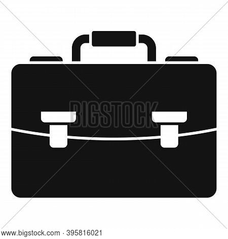 Office Briefcase Icon. Simple Illustration Of Office Briefcase Vector Icon For Web Design Isolated O