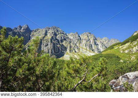 Mengusovska Valley In September. High Tatra Mountains. Slovakia.