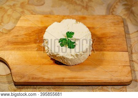 Homemade Cheese Made From Natural Milk