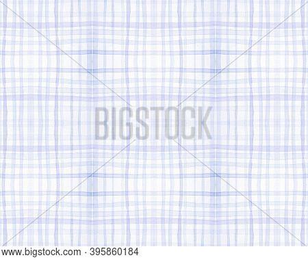 Blue And Green Tartan Prints. Seamless Buffalo Shirt. Scotland Plaid Pattern. Hipster Simple Border.