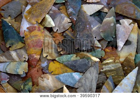 Colorful Arrowheads