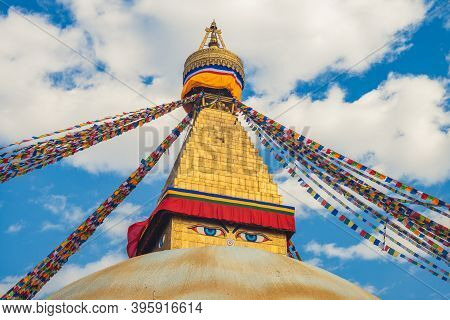 Boudha Stupa, Aka Boudhanath, At Kathmandu, Nepal