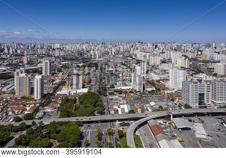 East Radial Avenue Near Mooca Neighborhood, Sao Paulo, Brazil