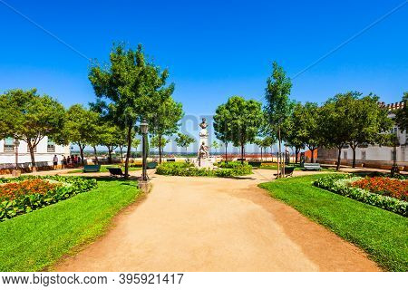 Jardim Diana Is A Public Garden And Viewpoint Near The Roman Temple Of Evora In The Centre Of Evora