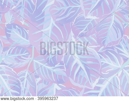 Proton Purple Repeated Spring Peony Wallpaper. Romantic Botanical Vector Background. Painted English