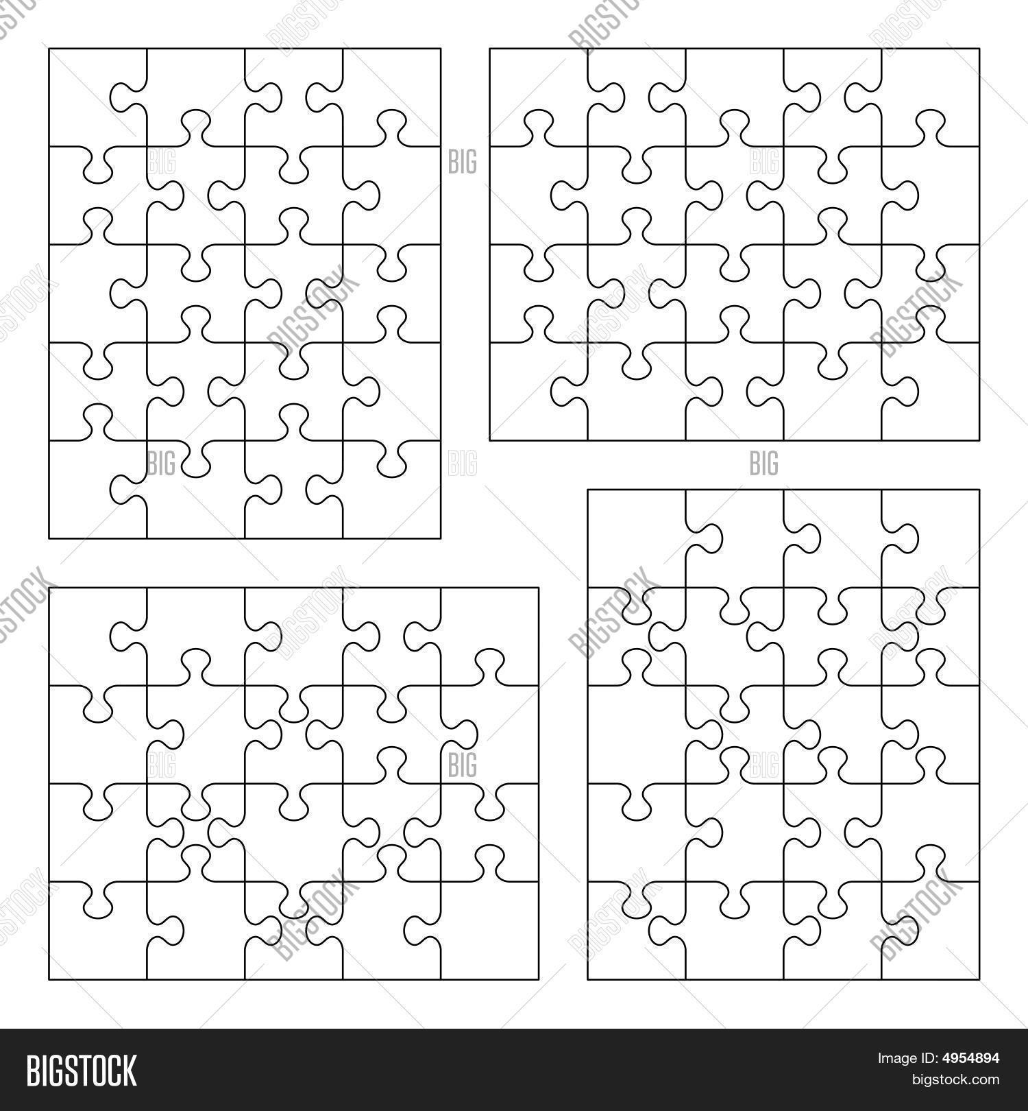 Großzügig Leere Puzzleteil Vorlage Galerie - Beispielzusammenfassung ...
