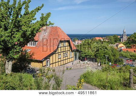 Popular Restaurant Destination On Bornholm