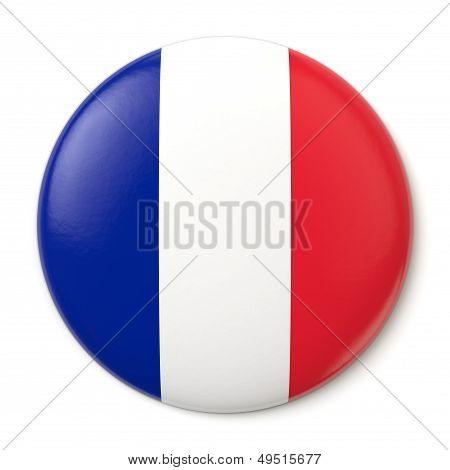 France Pin-back