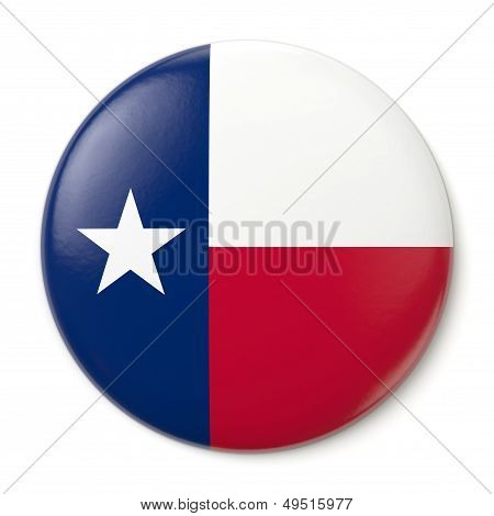 Texas Pin-back