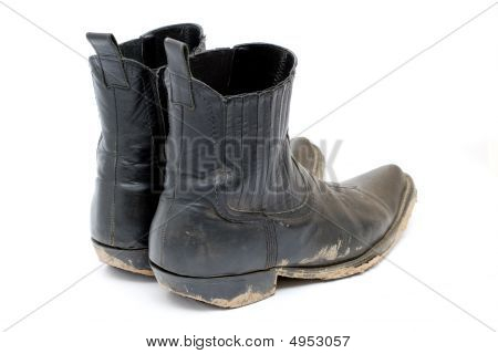 Old Dirty Cowboy Boots