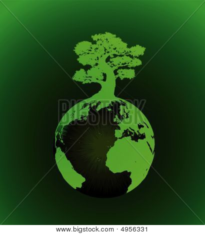 Green Earth-tree-