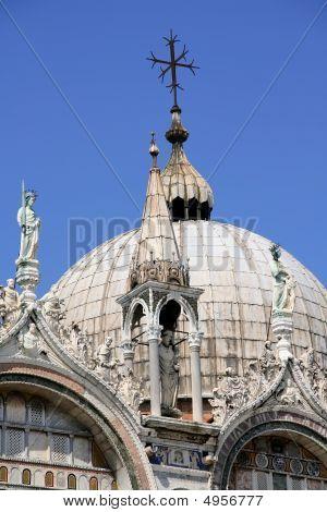 Dome Of Doges Palace, Venice