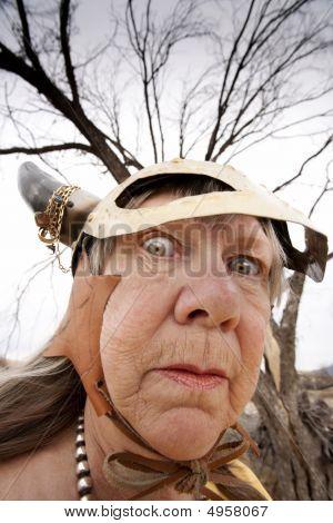 Crazy Viking Lady