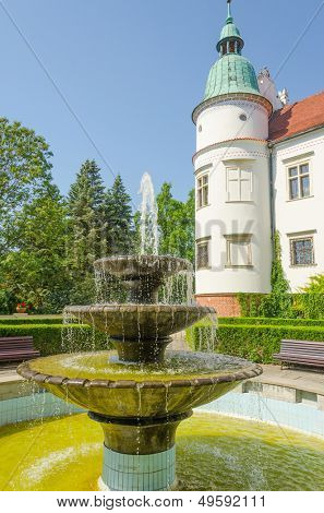 Baranow Sandomierski castle, Poland poster