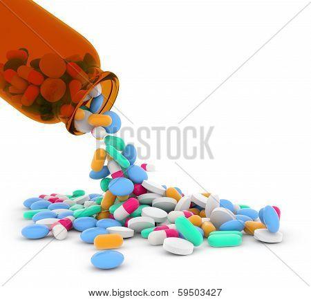 mixed pills
