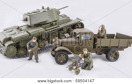 Toy Military Combat