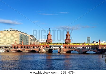 Oberbaumbruecke Bridge Berlin