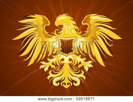 Golden Eagle Silhouette