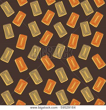 creative rectangle design pattern background vector
