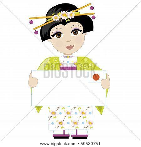 Japan Girl Sign