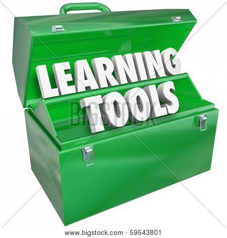 Learning Tools 3d Words Toolbox Education School Teaching