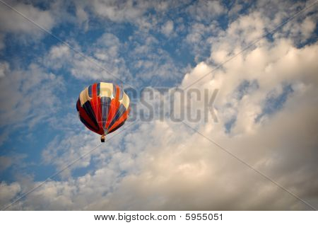 Amazing Hot Air Balloon Race in Reno Nevada poster