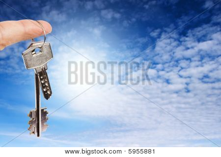Finger With Key